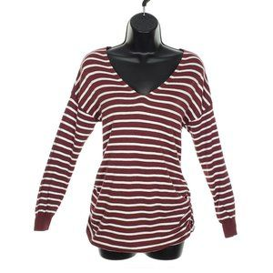 OLD NAVY Maternity Striped Long Sleeve Shirt